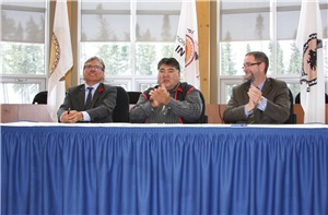 Following the Signing of the ChinuchiAgreement - A binding agreement that will govern the long-term working relationship between Nemaska Lithium and the Cree parties during all phases of the Whabouchi Lithium Project.