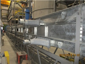 Installation of air vents for conveyors2
